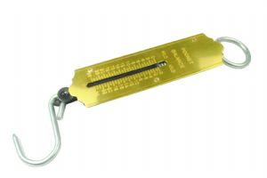 Spring Balance 0-25kg Handy Scale for Weighing Suitcase,  Fishing Scale etc. D8070